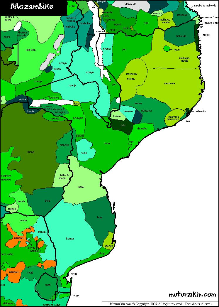 kort over gambia
